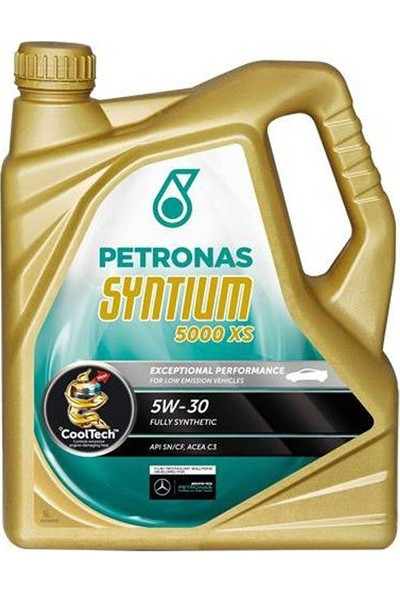 Petronas 5w30 Syntium 5000 XS Motor Yağı 5 lt.