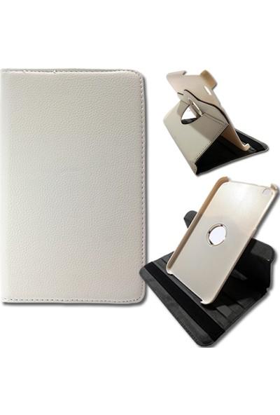 Smart Samsung Galaxy Tab T310 Deri Döner Standlı Tablet Kılıfı MD146