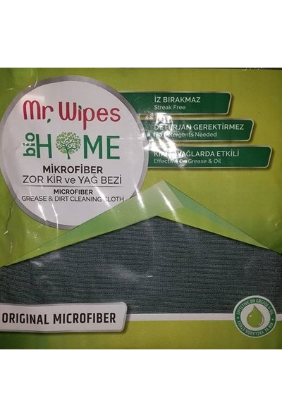 Farmasi Mr. Wipes Mikrofiber Zor Kir Ve Yağ Bezi (40X40)