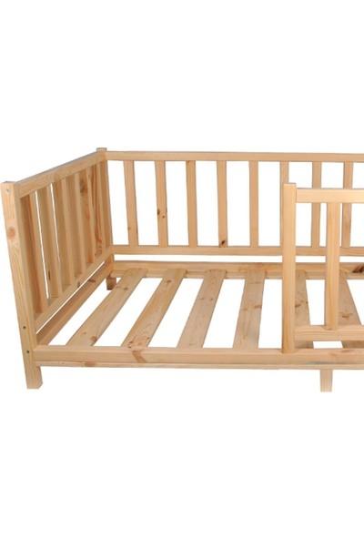 Köşk Mobilya Montessori Yatak Çatısız Model