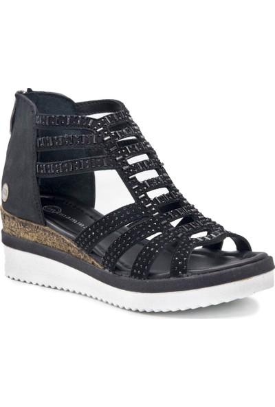 Mammamia D19Ys 1010 Siyah Terlik Sandalet