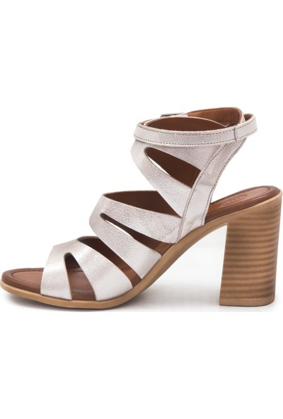 Mammamia D19Ys 1505 Dore Terlik Sandalet