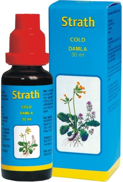 Strath Cold Damla 30 ml