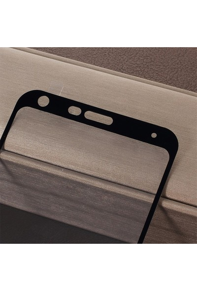 Ally LG Q7 Q7 Plus 3D Full Kaplama Cam Ekran Koruyucu