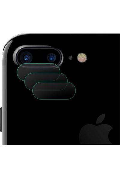 Ally For Apple iPhone 7/8 Plus Nano Kamera Koruyucu 3 Adet Set
