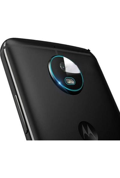 Ally Motorola Moto E5 Yüksek Çözünürlüklü Kamera Lens Koruma Camı