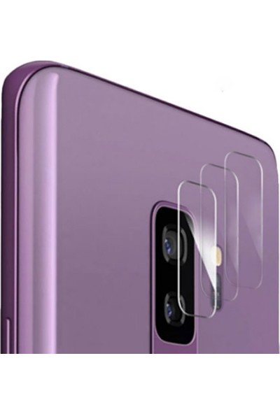 Ally For Samsung Galaxy S9+ Plus Nano Kamera Koruyucu 3 Adet Set