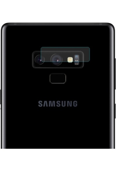 Ally Samsung Galaxy Note 9 Kamera Koruyucu Cam Koruyucu