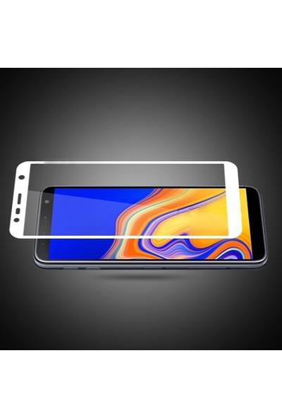 Ally Samsung Galaxy J6+ Plus J6 Prime J610 3D Full Cam Ekran Koruyucu