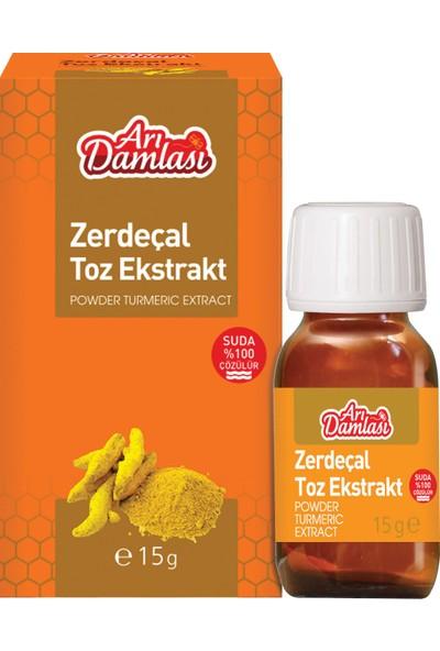 Arı Damlası 15 Gram Zerdeçal Toz Extrakt
