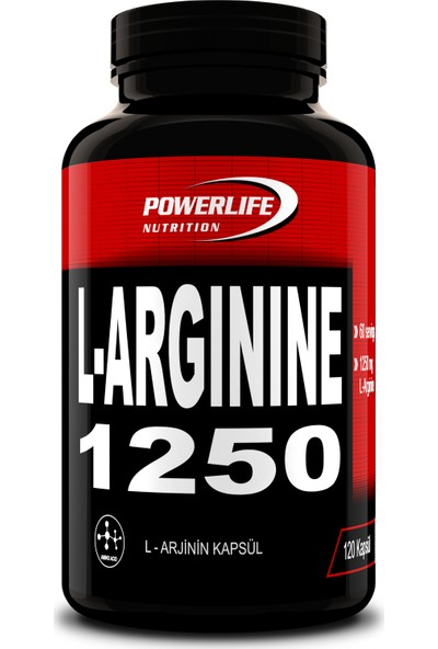 Powerlife L-Arginine 1250 Mg 120 Kapsül