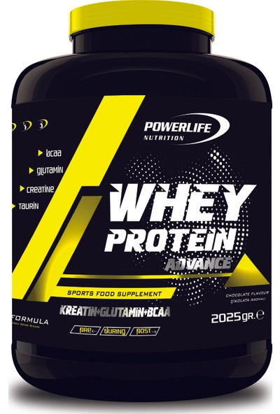 Powerlife Whey Protein 2025 Gram Cappuccino Aromalı