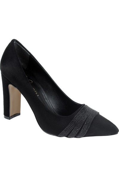 Beety Kadın Ayakkabı 9246 Siyah Süet