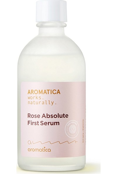 Aromatica Rose Absolute First Serum - Gül Serumu