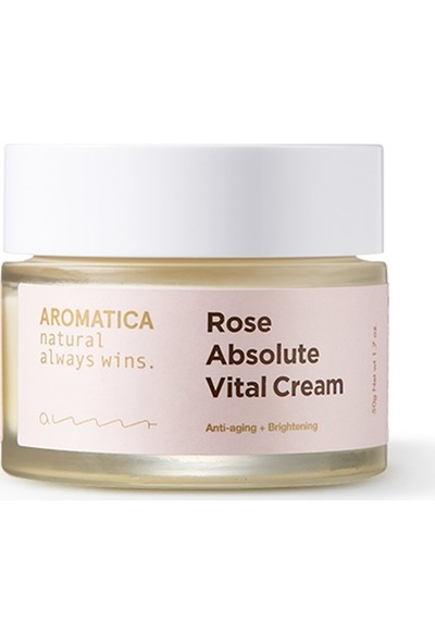 Aromatica Rose Absolute Vital Cream - Gül Kremi