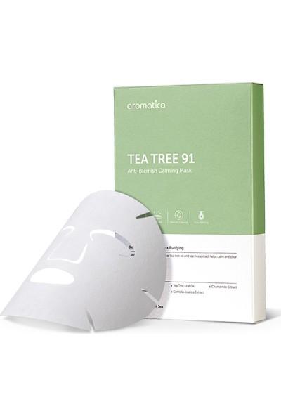 Aromatica Tea Tree 91 Anti-Blemish Calming Mask - Çay Ağacı Sivilce Maskesi