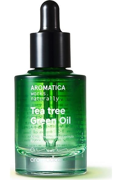 Aromatica Tea Tree Green Oil - Çay Ağacı Yağı