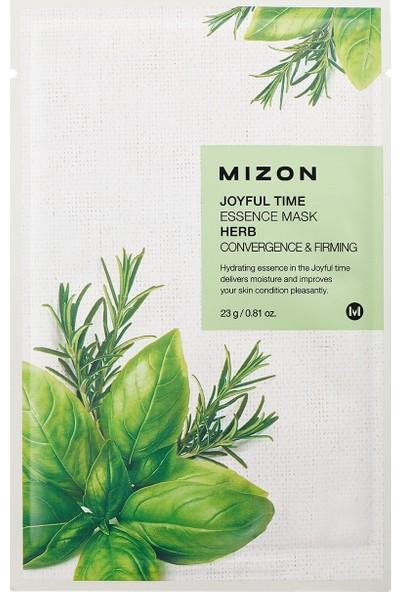 Mizon Joyful Time Essence Mask Herb - Nane Maskesi
