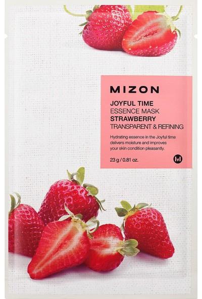 Mizon Joyful Time Essence Mask Strawberry - Çilek Maskesi