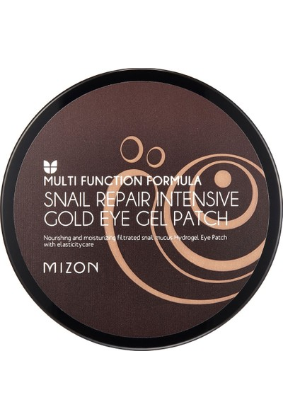 Mizon Snail Repair Intensive Gold Eye Gel Patch - Altın Salyangoz Ekstreli Göz Maskesi
