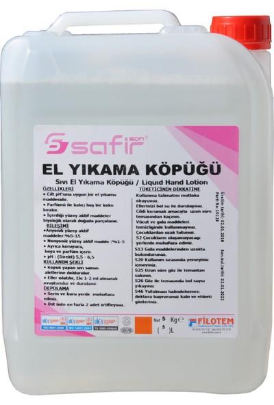 Safir El Yıkama Köpüğü - Köpük Sabun 5 kg Safir