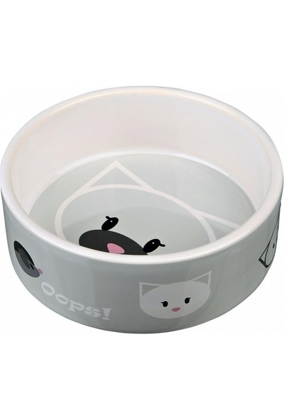 Trixie Kedi Seramik Mama Su Kabı 0.3lt/ 12 Cm