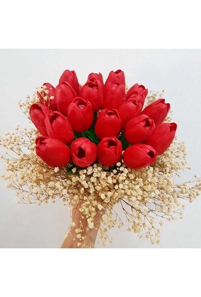 Kervan Kına Gelin Çiçeği Islak Lale Buketi