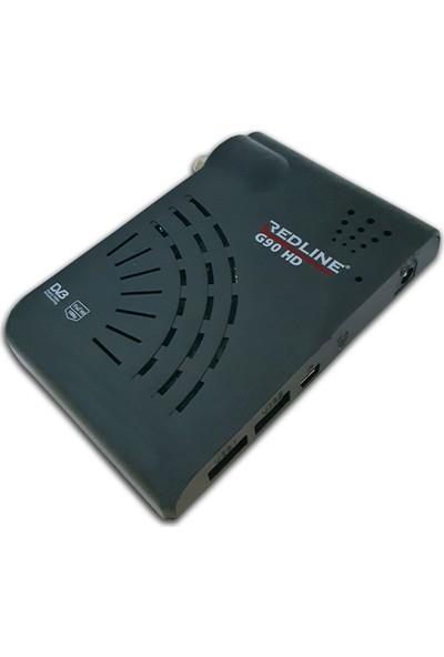 Redline G 90 HD 1 Yıl Free IP / 1 Yıl ReDCaM Hediyeli Full HD Uydu Alıcı