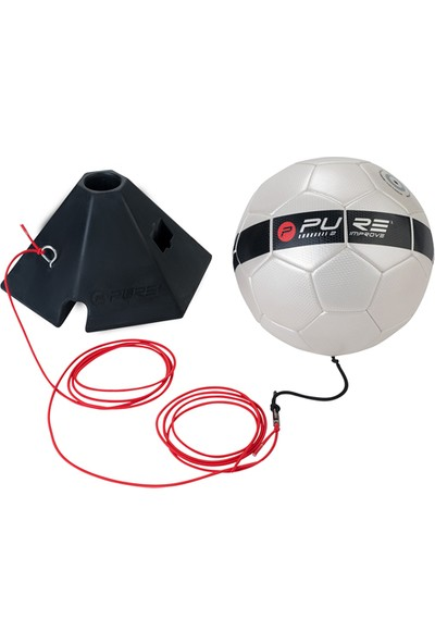 Pure P2I150070 Soccer Trainer Ball and Base Futbol Antrenörü
