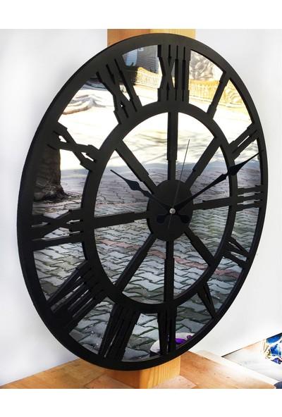 Markakanvas Aynalı Duvar Saati