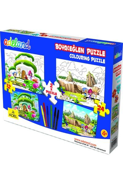 Adeland Boya & Eğlen, 12 Ve 24 Parça, Puzzle 2