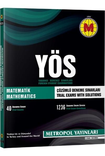 Metropol YÖS Matematik Çözümlü Deneme Sınavları