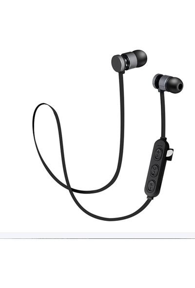 Evastore BT-KDK63 Bluetooth Kulaklık - Gri