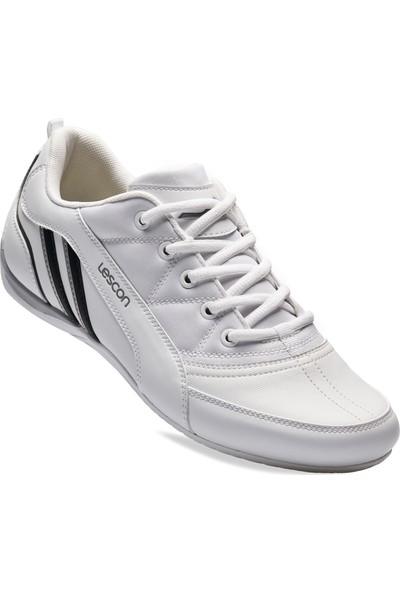 Lescon L 6535 Beyaz Erkek Sneakers Ayakkabı