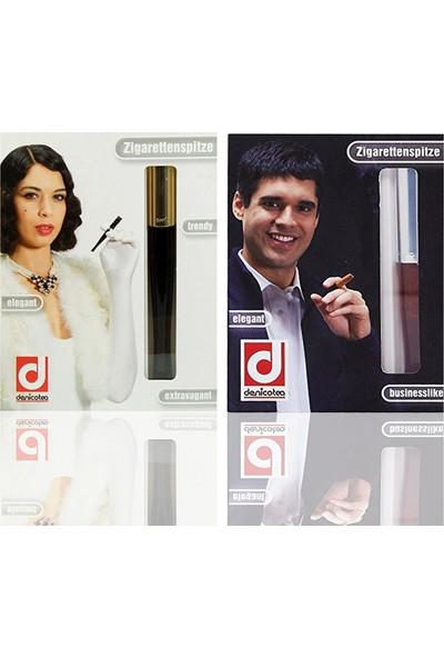 Denicotea 20254 Ejectör Filtreli Sigara Ağızlığı Siyah