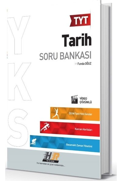 Hız Ve Renk Yayınları Tyt Tarih Soru Bankası - Funda Oğuz