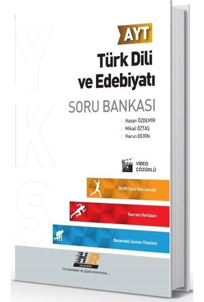 Hız Ve Renk Yayınları Ayt Türk Dili Ve Edebiyatı Soru Bankası - Hasan Özdemir