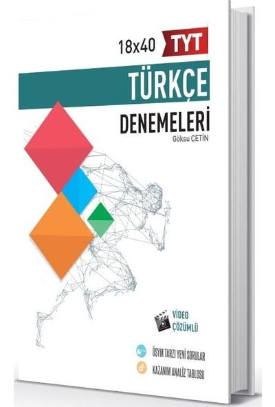 Hız Ve Renk Yayınları Tyt Türkçe 18 X 40 Türkçe Denemeleri - Göksu Çetin