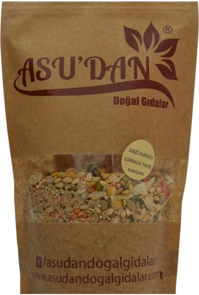 Asudan Doğal Gıdalar Sebze Kurulu Çorbalık Tahıl Karışımı 250 gr