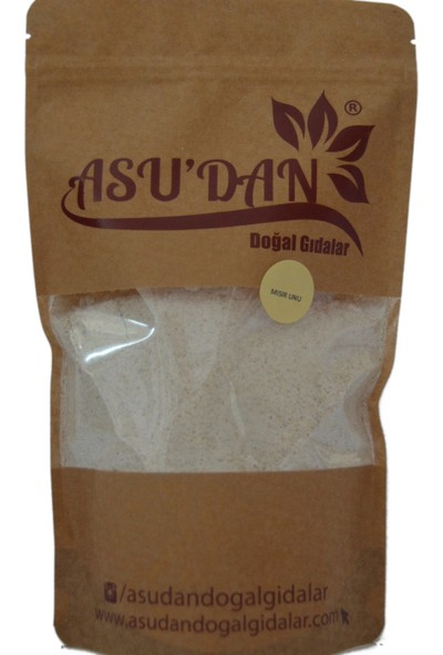 Asudan Doğal Gıdalar Mısır Unu 500 gr