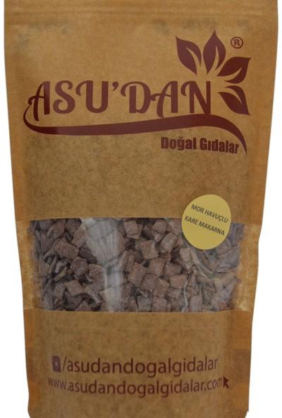 Asudan Doğal Gıdalar Mor Havuçlu Kare Makarna 300 gr