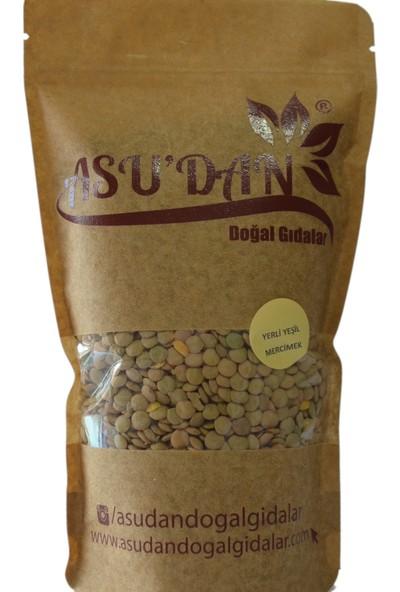 Asudan Doğal Gıdalar Yeşil Mercimek 500 gr