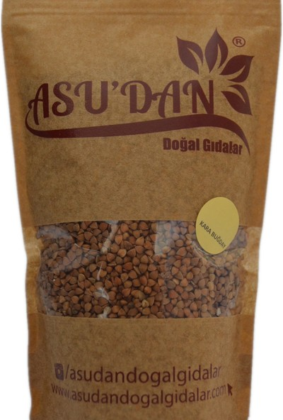 Asudan Doğal Gıdalar Yerli Karabuğday 500 gr