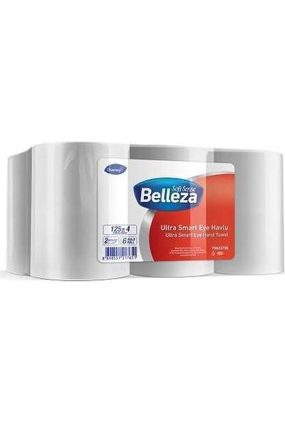 Belleza Ultra Hareketli Havlu 19,5 cm, 125m, 6'lı Koli