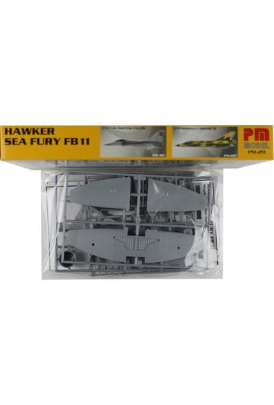 PM Model 1/72 Hawker Sea Fury Savaş Uçağı Maketi