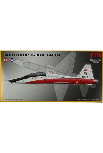 PM Model 1/72 T-38A Talon Savaş Uçağı Maketi