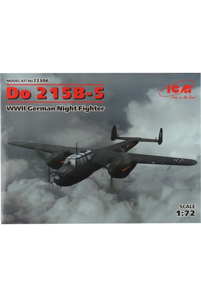 ICM 1/72 Do 215-B-5 Savaş Uçağı Maketi