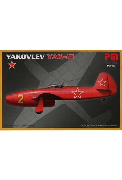 PM Model 1/72 Yakovlev YAK-15 Savaş Uçağı Maketi