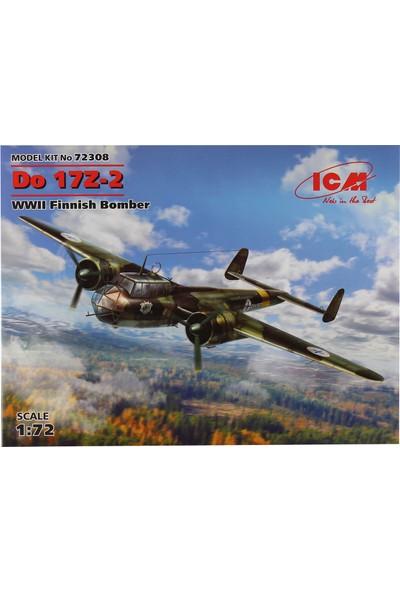 ICM 1/72 Do 17Z-2 Savaş Uçağı Maketi