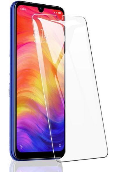 Case 4U Xiaomi Redmi Note 7 Cam Ekran Koruyucu - Temperli Cam Şeffaf